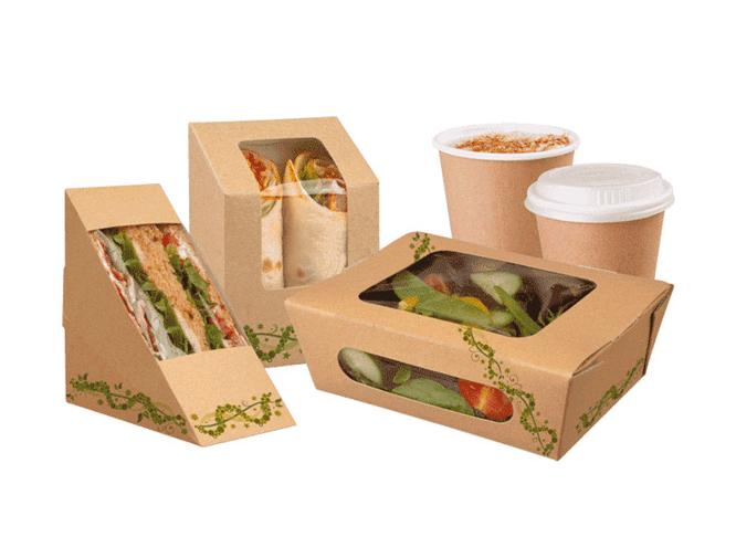 Kết quả hình ảnh cho hộp giấy đựng thức ăn nhanh